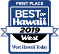 Best of Hawaii West First Place 2019